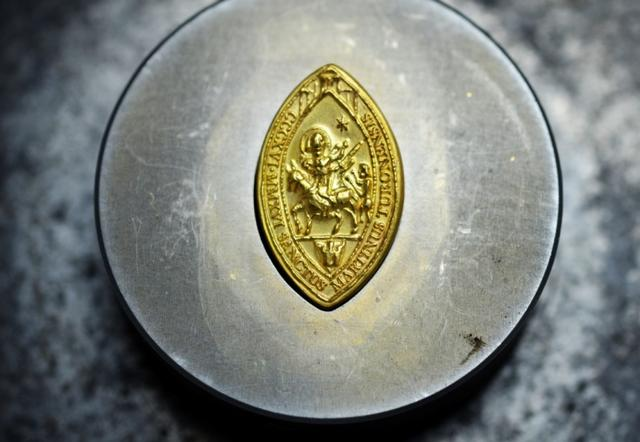 première impression de la médaille st martin - 2